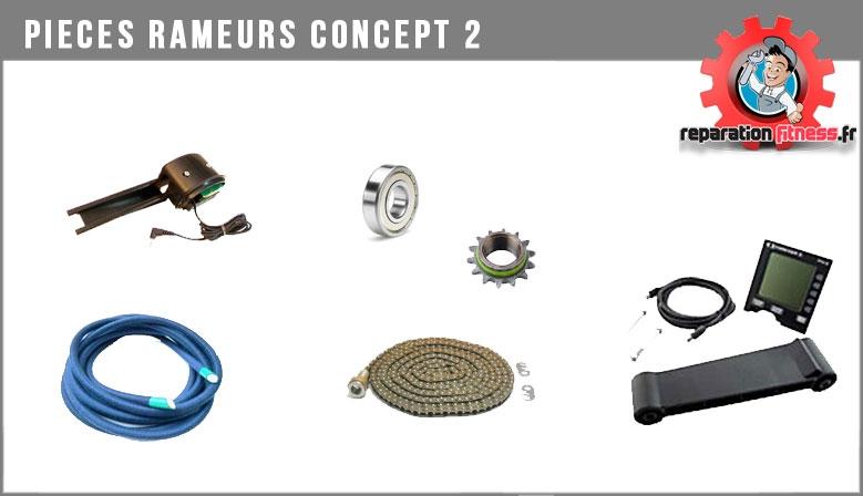 Pièces pour rameurs Concept 2
